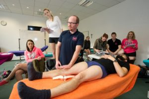 Physiotherapie-Unterricht