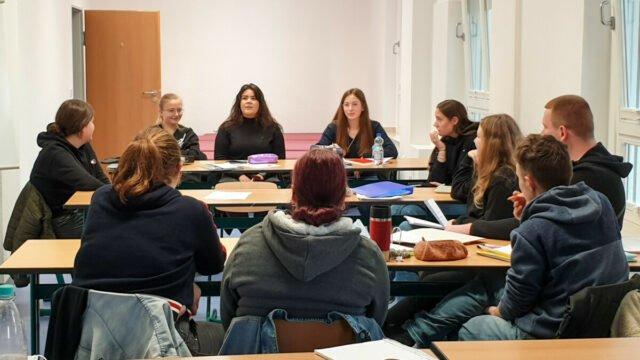 In zwei Klassen hat der Unterrichtsbetrieb an der Bildungsakademie Canisiusstift am 1. Oktober begonnen. Foto: SMMP/Detlef Katzki